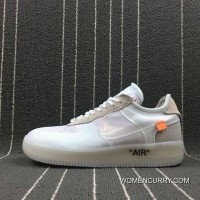 Nike Off-White X Air Force 1 AF1 OW Limited Joint Publishing A04606-100