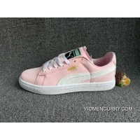 Outlet Puma Prevent Pig Leather Pink White 36 A 40 ba64bcb22