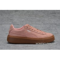 New Release Certification Of Puma Silver Pink Brown-37-37.5-38-38.5-39