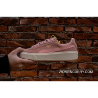 Simplified Channel Authentic Puma Basket Platform Rihanna 2 Pink White 363559-05 Top Deals