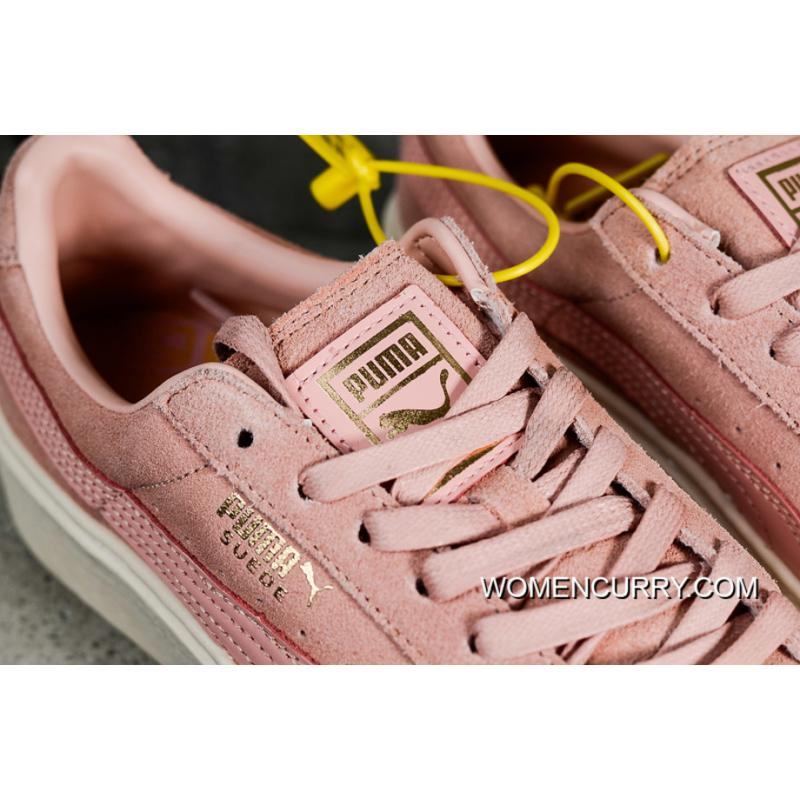 889bfc5ca081 Simplified Channel Authentic Puma Basket Platform Rihanna 2 Pink  on sale  f90c1 1ee56 Free Shipping ...