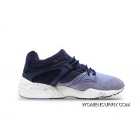 PUMA Blaze Winter Tech Light Blue Shark Women/Men Online