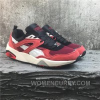 Puma R698 Classic Vintage Running Shoes Red Women/men For Sale