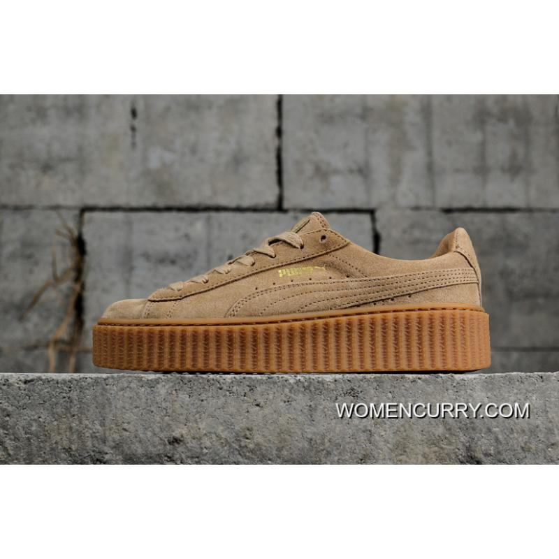 USD  87.38  244.67. Puma Rihanna Original Be Suede Creepers-Flatform Shoes  ... 81327494e