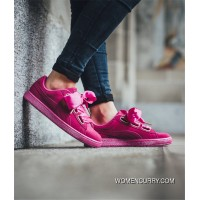 362714-01 Puma Suede Heart Rosemary Discount