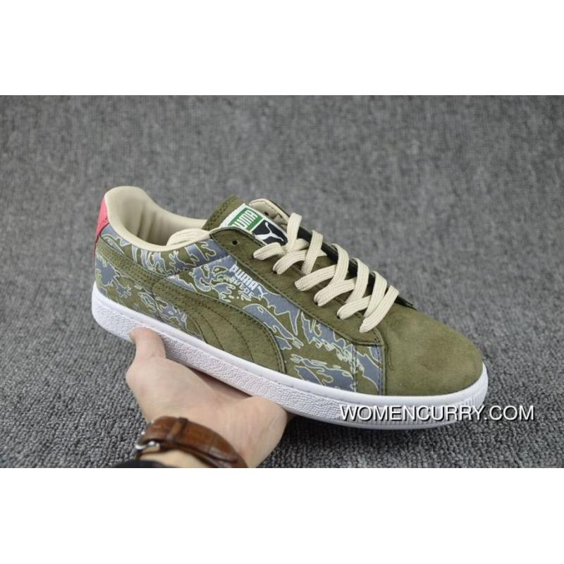 new style e0e5e bb4d2 SBTG X Mita Sneakers X PUMA Clyde Green Men Shoes Super Deals