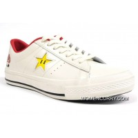 Super Mario Bros.x Converse One Star 40+1C678 (31) White Discount