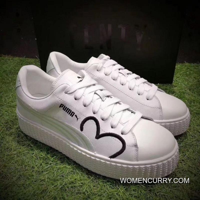 Puma Fenty CLF Creeper Women White Shoes Cheap To Buy