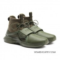 FENTY TRAINER HI MENS SNEAKERS Cypress-Cypress Style Number 191001-02 Free Shipping