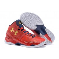 Under Armour Curry 2 Floor General Red/Academy-Metallic Gold Sale Online