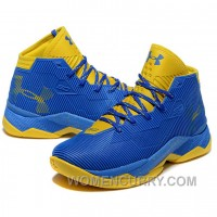 Under Armour Stephen Curry 2.5 Royal Golden Basketball Shoes New Arrival