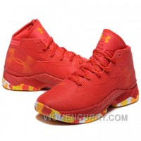 Under Armour Stephen Curry 2.5 Red Basketball Shoes For Sale