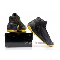 Under Armour Stephen Curry 3 Shoes Black Yellow New Release