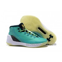 Under Armour Stephen Curry 3 Shoes Tiffany White For Spring