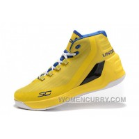 UA Curry 3 Zoom Yellow For Fall