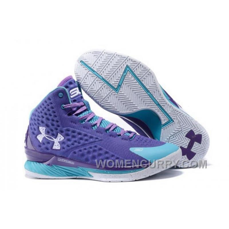 "New Release Under Armour UA Curry One ""Father To Son"" Purple Teal ... b3c87af854a4"