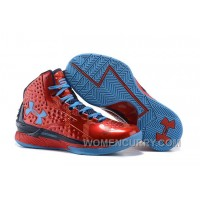 Xmas Deals Under Armour UA Curry One PE Red Blue Shoes For Sale