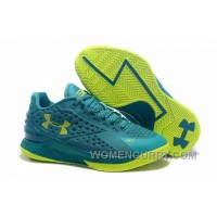 Womens Under Armour Curry One Low Green Volt New Arrival