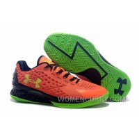 Womens Under Armour Curry One Low Bolt Orange For Fall