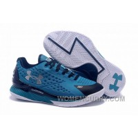 Womens Under Armour Curry One Low Panthers Discount