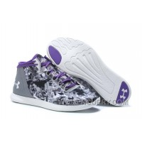 Authentic UA Speedform StudioLux Women Purple Mid Trainner 36cdj