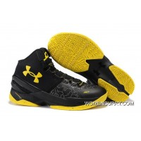 Cheap Under Armour Curry 2 Black Knight – Black/Yellow Lastest
