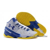 'Dub Nation' Under Armour Curry 2 Blue/White – Yellow New Release