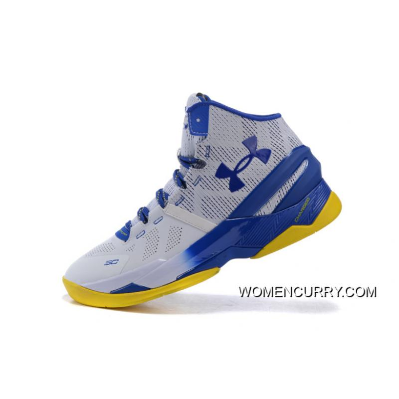 cba54242d03e ...  Dub Nation  Under Armour Curry 2 Blue White – Yellow New Release ·    ...
