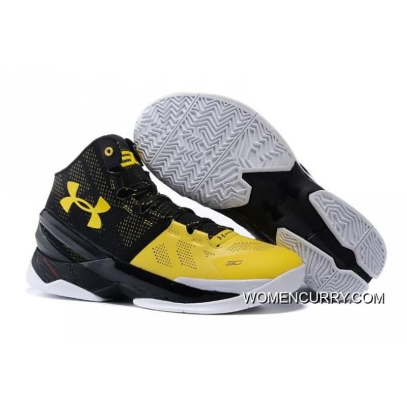 best service 06640 1457e 'Long Shot' Under Armour Curry 2 Black/Taxi-White New Release