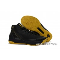 Cheap Under Armour Curry 3 Black/Taxi Super Deals