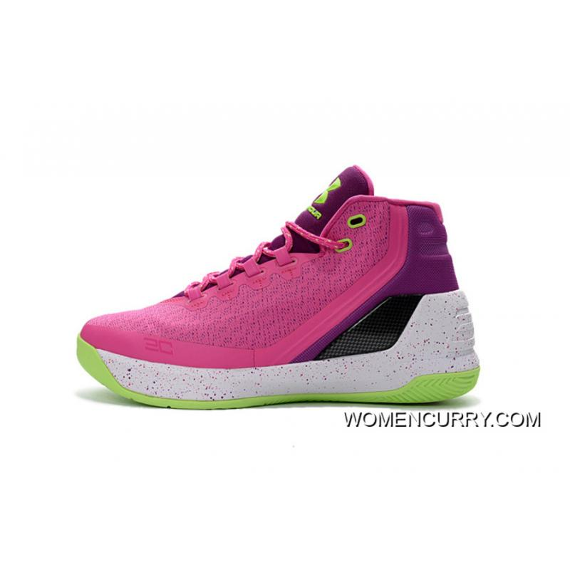7741e6e292f2 ... Cheap Under Armour Curry 3 Pink Purple -Black White Free Shipping ...