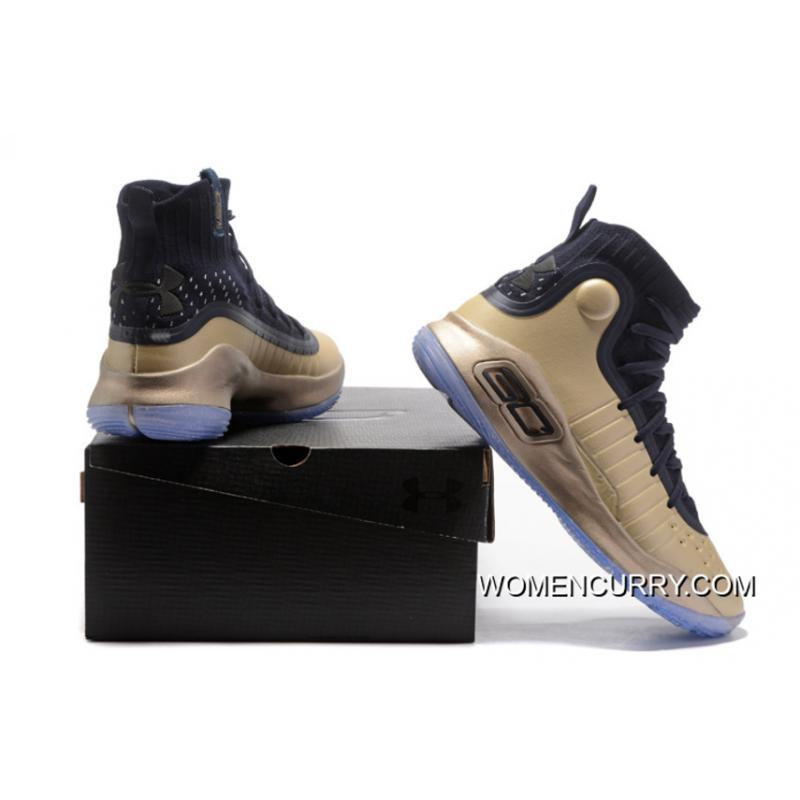 promo code 4dc5d 42299 Under Armour Curry 4 Basketball Shoes Gold Black Cheap To Buy