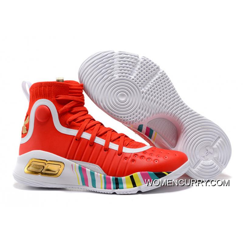 e1dcdbc3f756 ... new arrivals under armour curry 4 basketball shoes red white copuon  code 65fe8 07844
