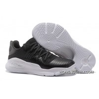 """Under Armour Curry 4 Low """"Black/White""""High Quality For Sale"""