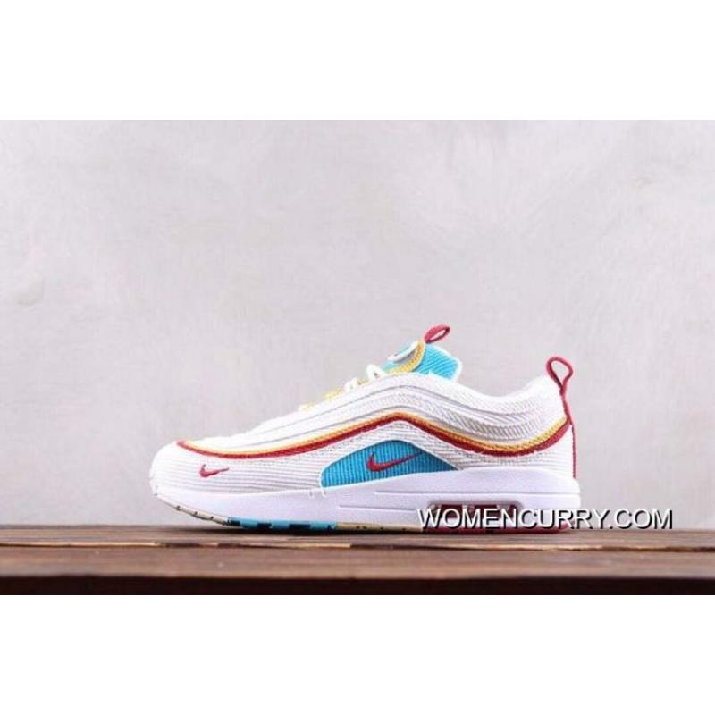 cheap for discount 450a7 abc6c Women Sean Wotherspoon Nike Air Max 97 Hybrid SKU:150728-289 New Release
