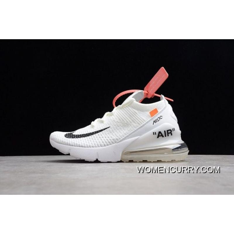 b0d6554d9 New Release Women OFF-WHITE X Nike Air Max 270 Sneakers SKU:103868 ...