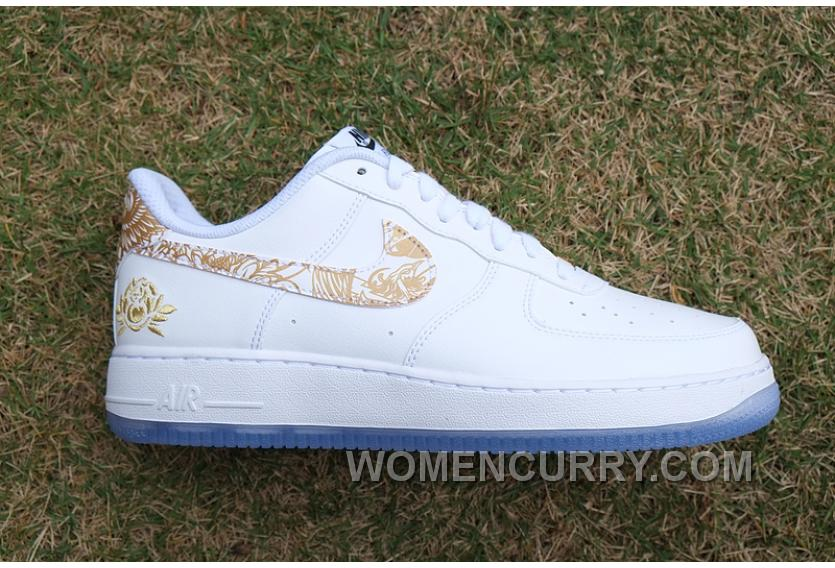 Air Force 1 Chinese New Year White Gold Peony Cheap To Buy 22625b73ed2a