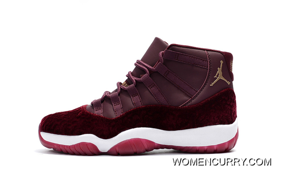 """pretty nice b040d 90071 Cheap Air Jordan 11 GS """"Red Velvet"""" Night Maroon Metallic Gold–Night Maroon  Release Authentic, Price   79.00 - Women Stephen Curry Shoes Online"""