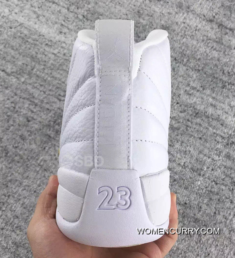 buy popular 803fe 9ee3c Nike Air Jordan 12 XII Retro OVO White Gold Release Cheap To Buy