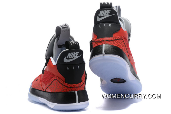 8155475d51a New Year Deals Air Jordan 33 Fire Red/Black-White, Price: $91.49 ...