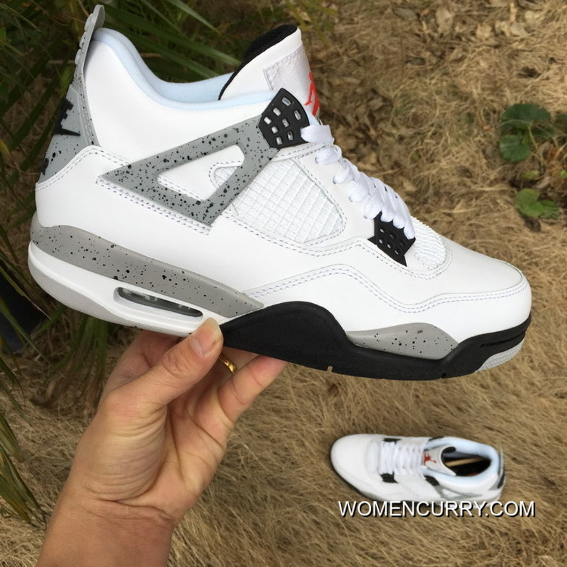 "online store 7e835 cd30f ""White Cement"" Air Jordan 4 OG Top Deals, Price   83.79 - Women Stephen  Curry Shoes Online"