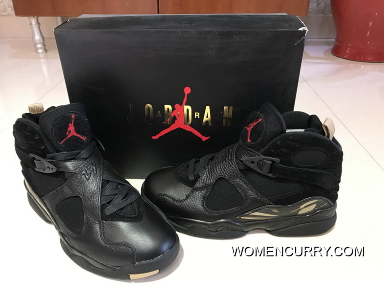online store 94bf3 dd97e Latest Air Jordan 8 OVO Black Gold Colorways