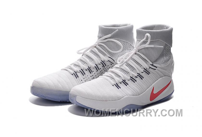 """eee751576e78 Nike Hyperdunk 2016 Flyknit """"USA Home"""" Authentic AF2Yw"""