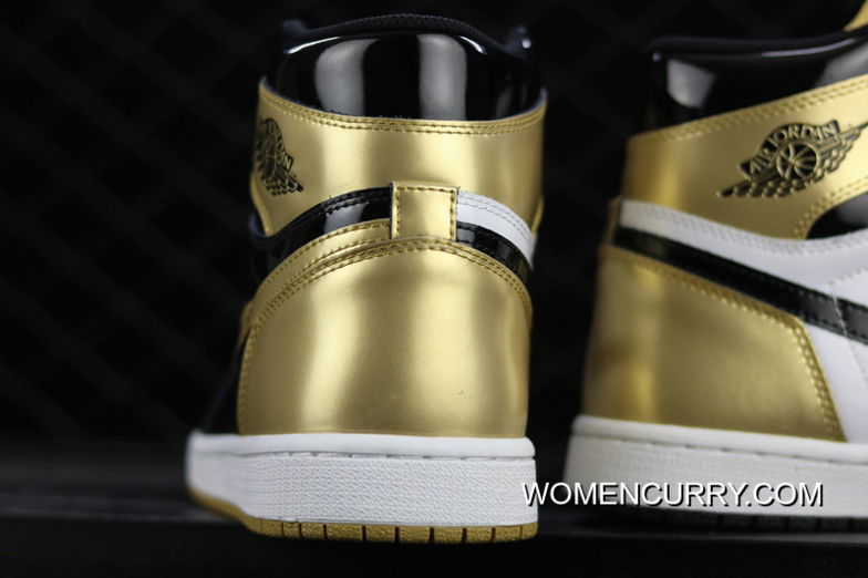 finest selection def23 adcbe Free Shipping Air Jordan 1 Top3 Complexcon Black Gold Yuanyang 861428-001