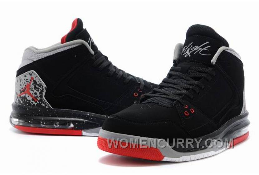 ... ba4d6 35d8f Mens Jordan Flight Origin BlackFire Red-Cement Grey For  Sale Super Deals PaBh2hT ... 573d67697