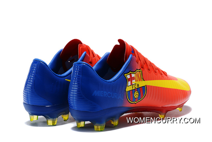 new style ef6b7 afcb0 To Cargo Assassin Ten 1 Super High Quality Barcelona Colorways FG Nail  Soccer Shoes Nike Mercurial