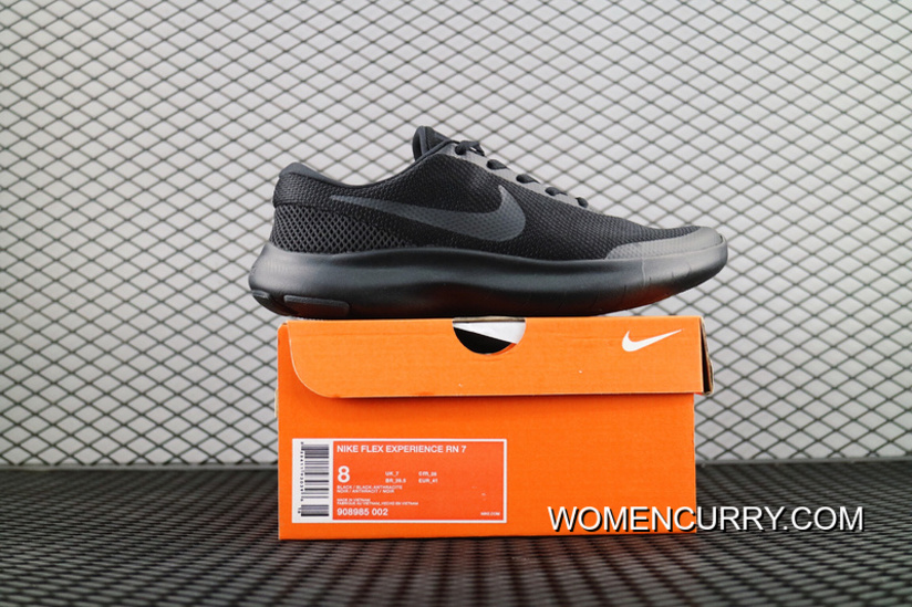 24d1d0254340 Nike FLEX EXPERIENCE RN7 LUNAREPIC 7 2018 Spring And Summer Running Shoes  All Black SKU 908985