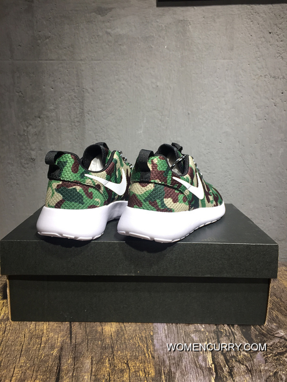 4e6abb9cead8 New Release Nike ROSHERUN RUN ID Mesh Light Breathable London Olympic Mesh Breathable  Running Shoes 943711