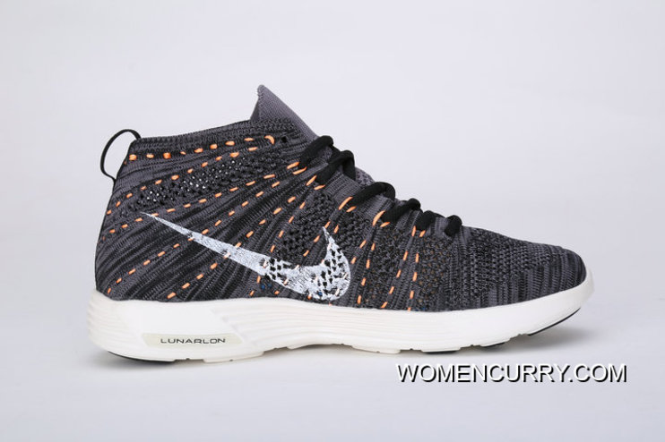 factory authentic 8388f 2a5c9 Best Nike Lunar Flyknit Chukka HTM 554969 LUNAREPIC High Woven Running  Shoes LUNAREPIC Woven High FLYKNIT Grey And Orange
