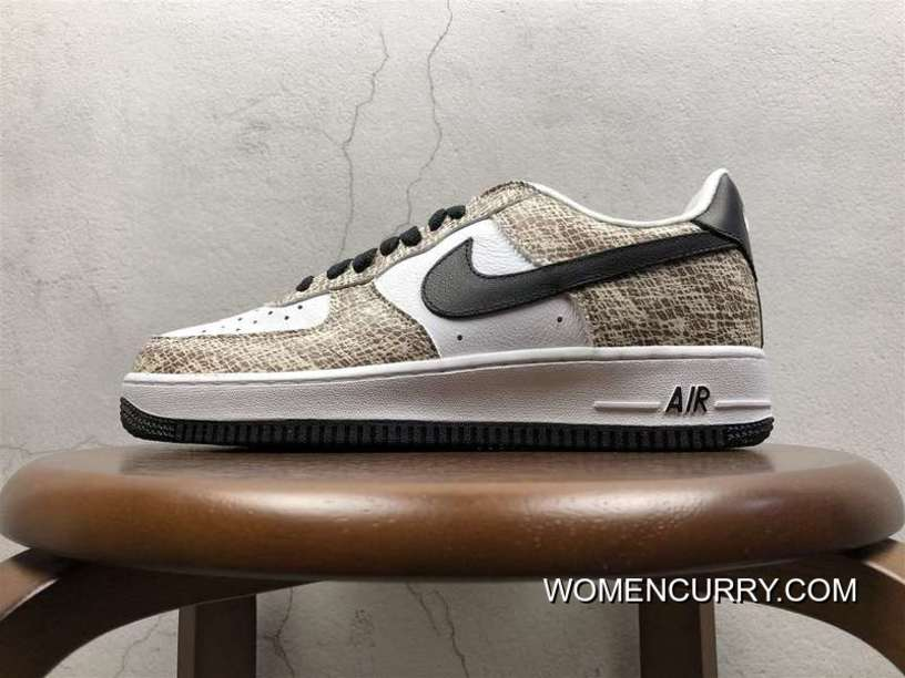 Nike Snake Air Sneaker Version Nike Air Force 1 Low Cocoa 845053-104  Discount 6460153f3658